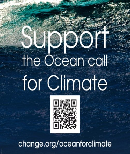 Support the Ocean call for Climate