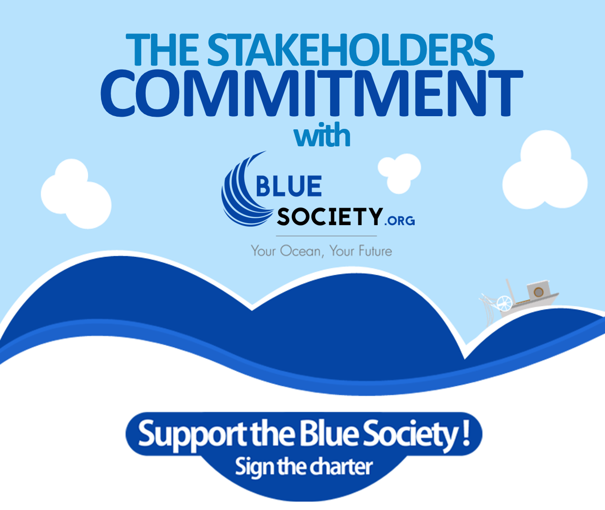 Stakeholders commitment button