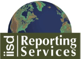 logo IISD Reporting services