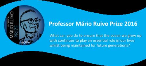 Prix 2016 du Professeur Mário Ruivo