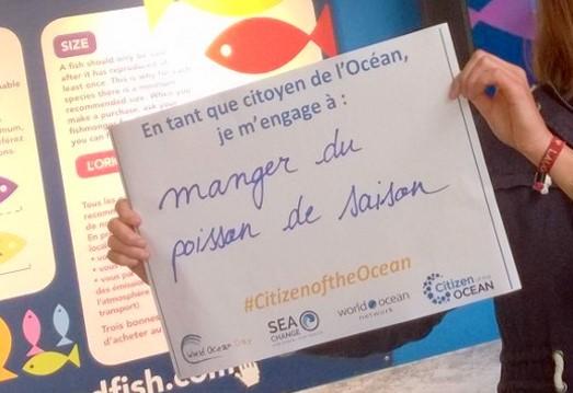 Le 8 juin,  prenez-vous en photo avec votre geste pour l'Océan !