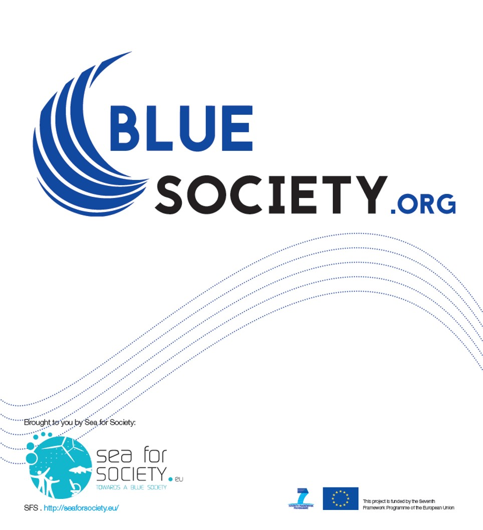 Leaflet Blue Society