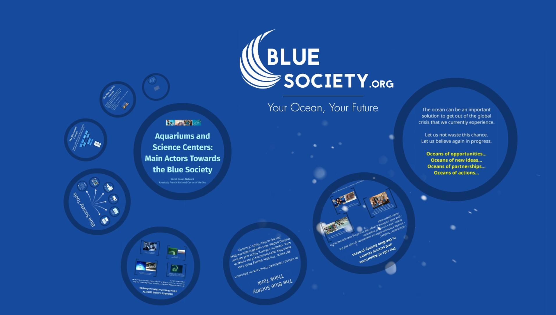 Prezi Blue Society
